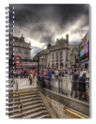 Piccadilly Circus - London Spiral Notebook