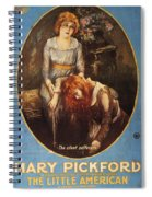 Pickford: Film Poster, 1917 Spiral Notebook