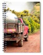 Pickup Truck Spiral Notebook