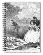 Picnic, 1859 Spiral Notebook