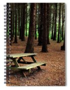 Picnic Table Spiral Notebook