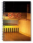 Picturesque Parking Spiral Notebook