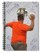 Pie Tossing 01 Spiral Notebook