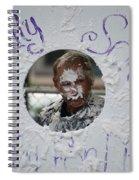 Pie Tossing 03 Spiral Notebook