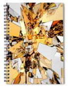 Pieces Of Gold Spiral Notebook