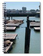 Pier 39 San Francisco Spiral Notebook