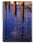 Pier Reflections Spiral Notebook