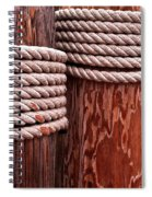 Pier Ropes Spiral Notebook