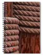Pier Ropes II Spiral Notebook