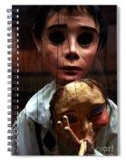 Pierrot Puppet Spiral Notebook