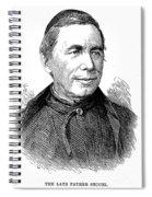 Pietro Angelo Secchi Spiral Notebook