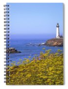 Pigeon Point Lighthouse California Coast Spiral Notebook
