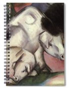 Pigs Spiral Notebook