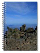Pihanakalani Haleakala - House Of The Sun - Summit Sunrise Maui Spiral Notebook