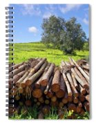 Pile Of Trunks Spiral Notebook