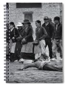 Pilgrim Prostration Spiral Notebook