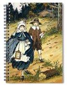 Pilgrim Schoolchildren Spiral Notebook