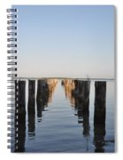Pilings From An Old Pier Spiral Notebook
