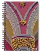 Pillar Details Spiral Notebook