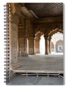 Pillars Of Building Inside Red Fort Spiral Notebook