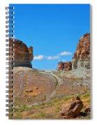Pilot Butte Rock Formation Iv Spiral Notebook
