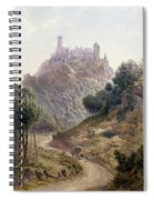 Pina Cintra Summer Home Of The King Of Portugal Spiral Notebook