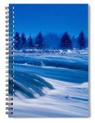 Pinawa Channel, Manitoba Spiral Notebook