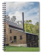 Pine Creek Grist Mill At Fall Spiral Notebook