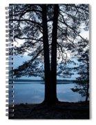 Pine Silhuette Spiral Notebook