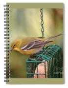 Pine Warbler 3 Spiral Notebook