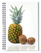 Pineapple And Kiwis Spiral Notebook