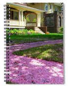 Pink Carpet Spiral Notebook
