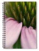 Pink Cone Flower Spiral Notebook