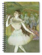 Pink Dancer  Spiral Notebook