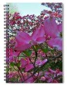 Pink Dogwood  Spiral Notebook