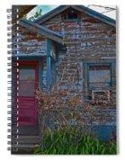 Pink Door Spiral Notebook