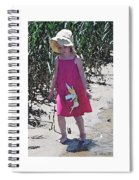 Pink Dress Spiral Notebook