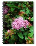 Pink Flowers Of Little Bavaria Spiral Notebook