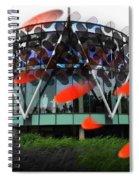 Pink Floyd Park Spiral Notebook