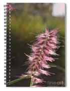 Pink Fuzzy Spiral Notebook