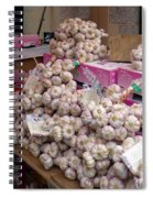 Pink Garlic Spiral Notebook
