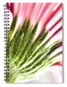 Pink Gerbera 9 Spiral Notebook