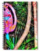 Pink Kitty Spiral Notebook