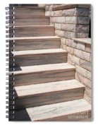 Pink Marble Staircase In Patmos Greece Spiral Notebook