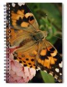 Pink N Orange Spiral Notebook