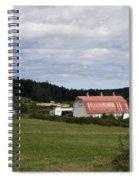 Pink Roof Farm Spiral Notebook