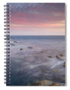 Pink Seasunset Spiral Notebook