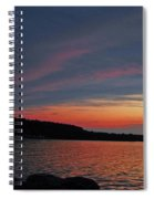 Pink Sky At Night Spiral Notebook