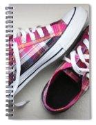 Pink Sneakers Spiral Notebook