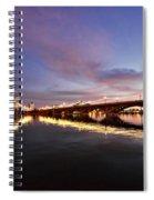 Pink Sunset  Spiral Notebook